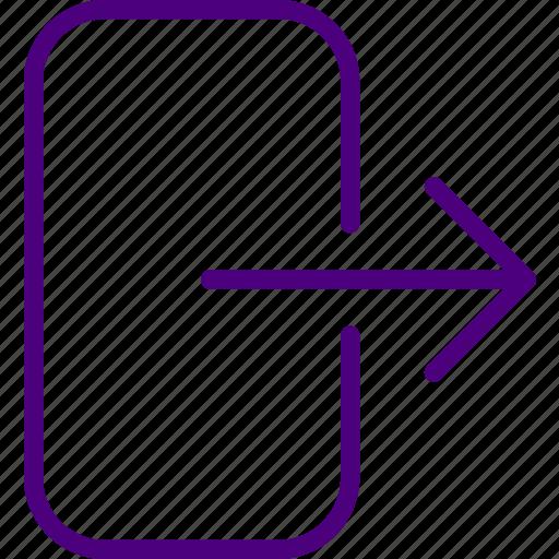 app, essential, exit, file, interaction icon