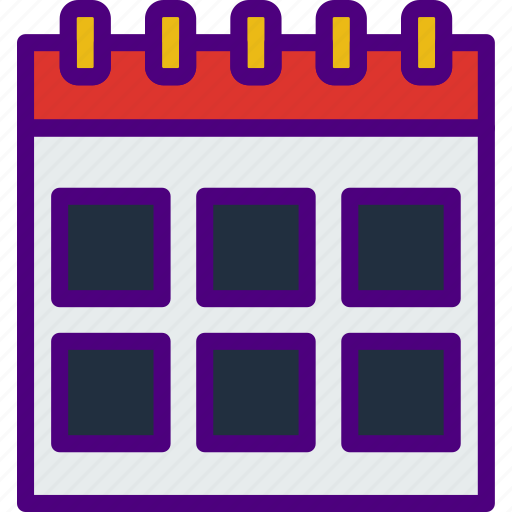 app, calendar, essential, file, interaction icon