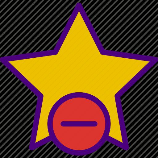 app, delete, essential, favorite, file, interaction icon