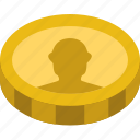 bank, business, coin, finance, money icon