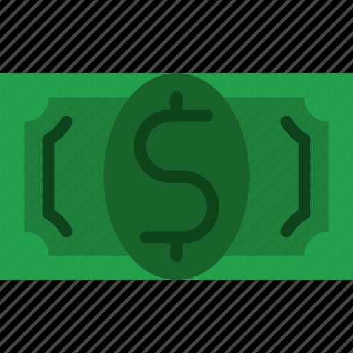 bank, bill, business, dollar, finance, money icon