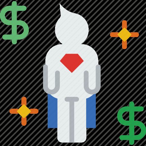 bank, business, finance, investor, money icon
