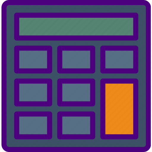 Bank, business, calculator, finance, money icon - Download on Iconfinder