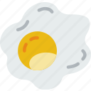 eat, egg, food, fried, kitchen, restaurant icon