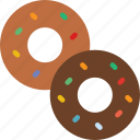 donuts, eat, food, kitchen, restaurant
