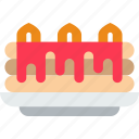cake, eat, food, kitchen, restaurant icon