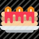 cake, eat, food, kitchen, restaurant