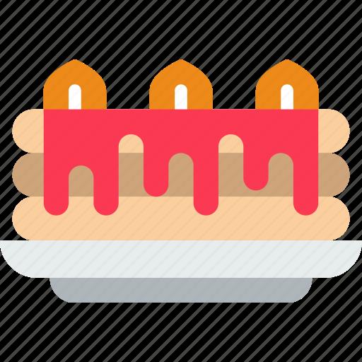 cake, eat, food, kitchen, restaurant icon