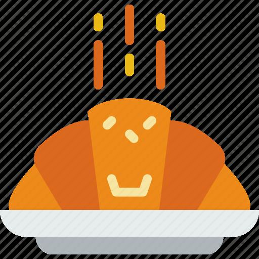 croissant, eat, food, kitchen, restaurant icon