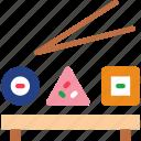 eat, food, kitchen, restaurant, sushi