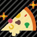 eat, food, kitchen, pizza, restaurant, slice icon