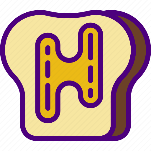 eat, food, kitchen, restaurant, toast icon