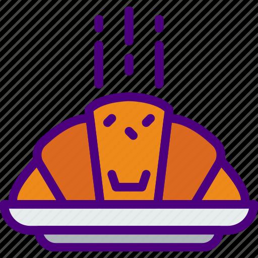Croissant, eat, food, kitchen, restaurant icon - Download on Iconfinder
