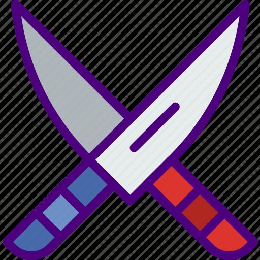 Eat, food, kitchen, knives, restaurant icon - Download on Iconfinder