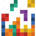 competition, games, play, tetris, video icon