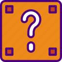 brick, competition, games, play, suprise, video icon