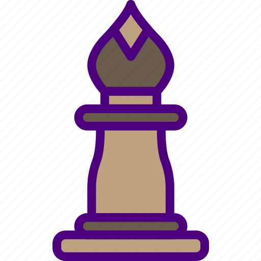 bishop, competition, games, play, video icon