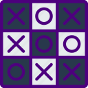 competition, games, play, tac, tic, toe, video icon