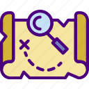 adventure, competition, games, map, play, video icon