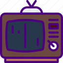 competition, game, games, old, play, tv, video icon