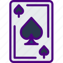 competition, games, play, spades, video icon