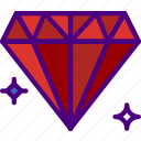 competition, diamond, games, play, video icon