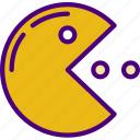 competition, games, pacman, play, video icon