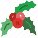 christmas, easter, halloween, holidays, mistletoe icon