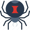 christmas, easter, halloween, holidays, spider icon