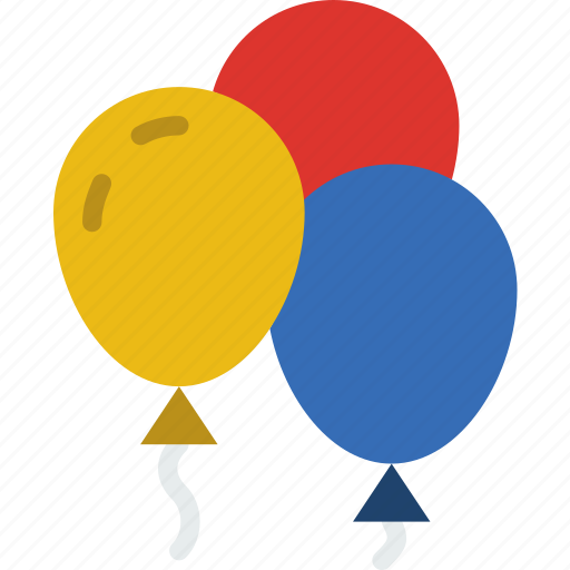 balloons, christmas, easter, halloween, holidays icon