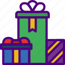 christmas, easter, gifts, halloween, holidays icon