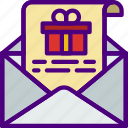 christmas, easter, halloween, holidays, letter, santa icon