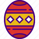 christmas, easter, egg, halloween, holidays icon