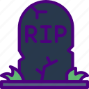 christmas, easter, halloween, holidays, tombstone icon
