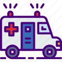 ambulance, doctor, hospital, medic, medicine icon