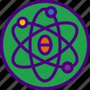 atom, doctor, hospital, medic, medicine icon