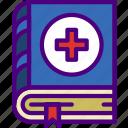 doctor, hospital, manual, medic, medical, medicine icon