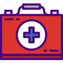 aid, doctor, first, hospital, kit, medic, medicine