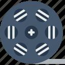 album, movie, multimedia, music, reel, video icon
