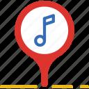 album, multimedia, music, place, video icon