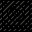 album, hdd, multimedia, music, video icon