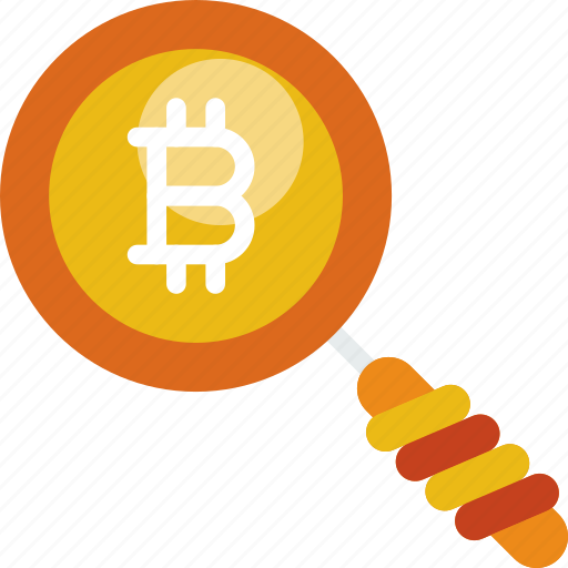 bitcoin, gadget, phone, search, technology, web icon