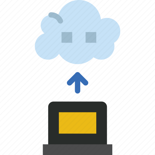 Cloud, gadget, phone, technology, transfer, web icon - Download on Iconfinder