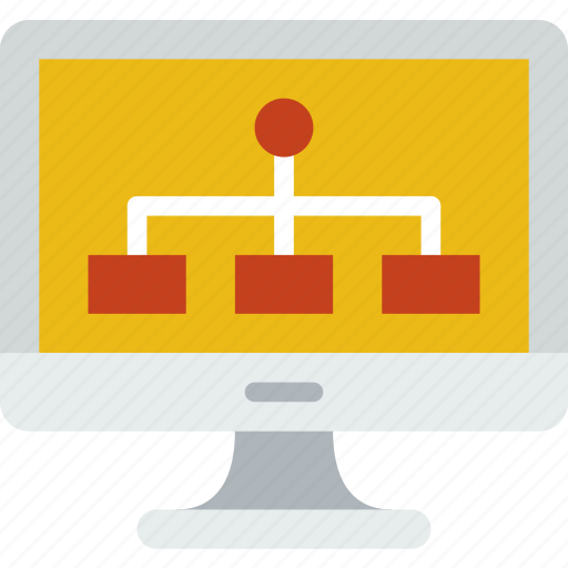 Computer, diagram, information, innovation, technology icon - Download on Iconfinder