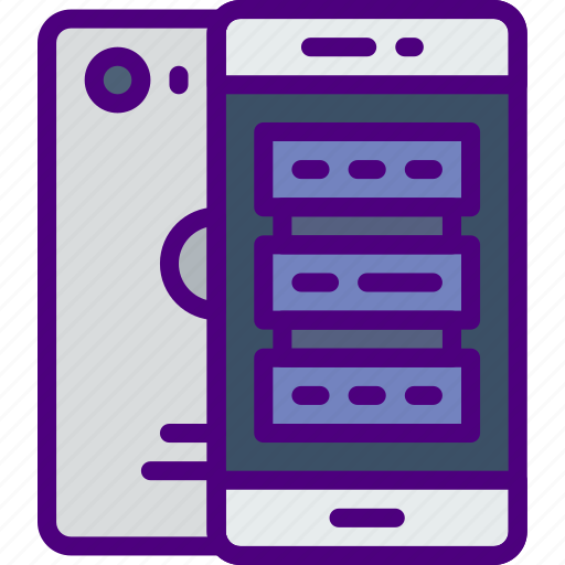 computer, information, innovation, network, phone, technology icon