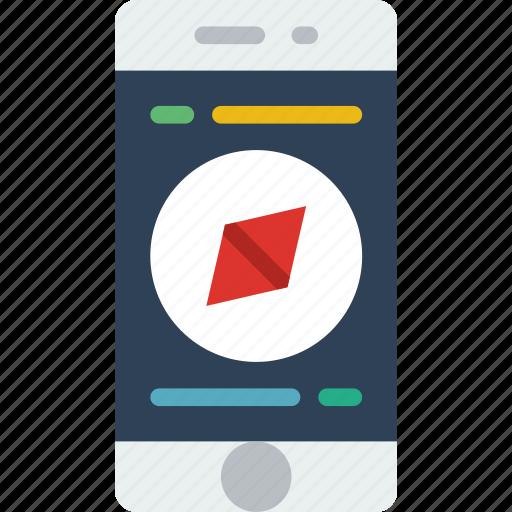 app, interface, mobile, navigation, web icon