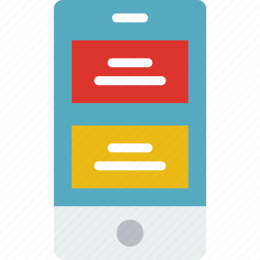 application, articles, interaction, interface, mobile icon