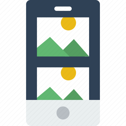 Application, carousel, interaction, interface, mobile, picture icon - Download on Iconfinder