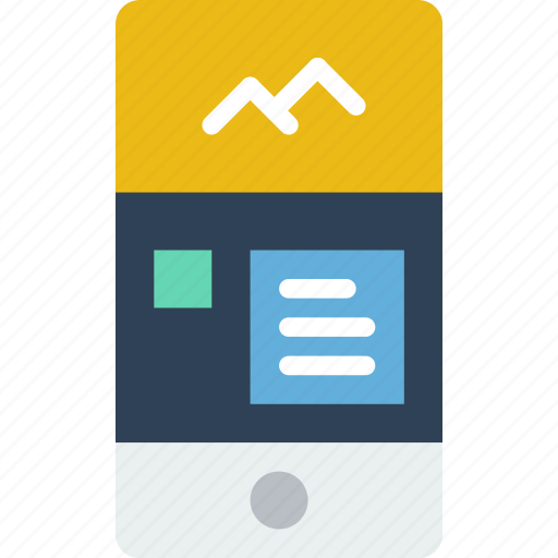 Application, comments, interaction, interface, mobile, picture icon - Download on Iconfinder