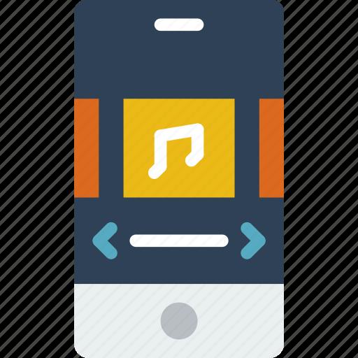 album, application, interaction, interface, mobile icon